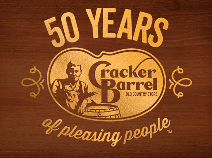 Cracker Barrel - 50 Years of Please People