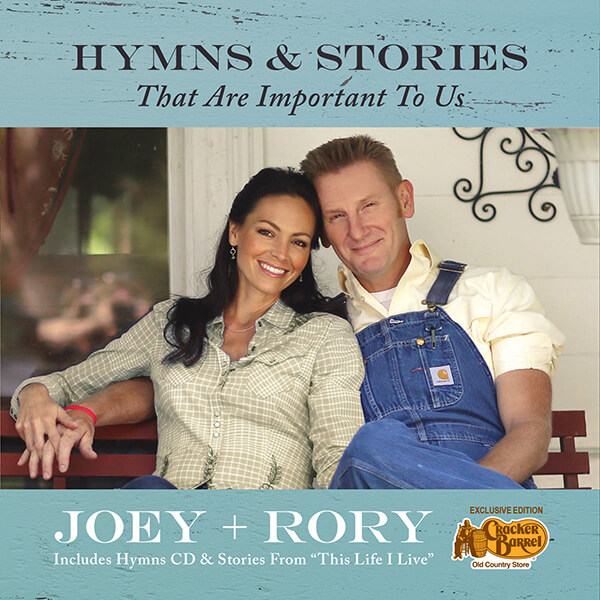 "Joey+Rory ""Hymns That Are Important To Us"" CD Cover"