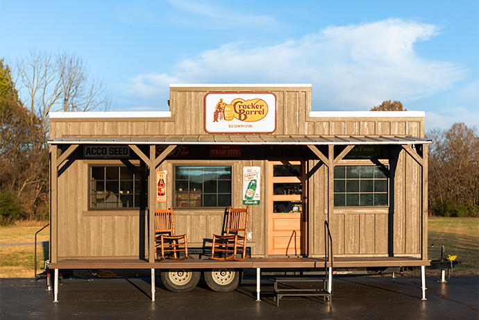 Cracker Barrel Tiny House